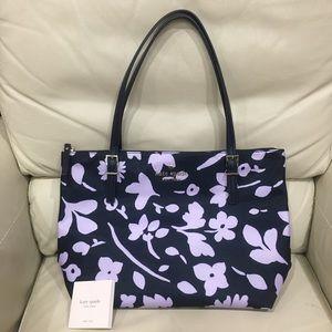 HP🎉 Kate Spade Purple Watson Lane Maya Tote Bag